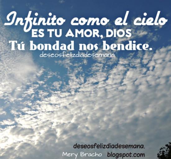Dios nos ama amor bendiciones imagen