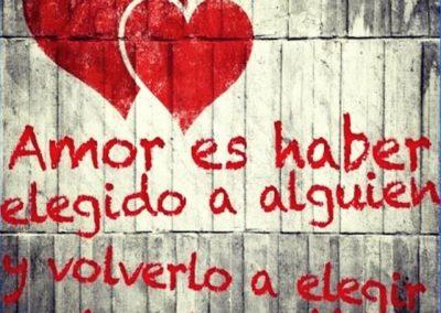 El amor es ...