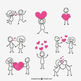 Amor y corazones