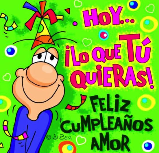 Feliz Cumpleaños Mi Amor → IMÁGENES de CUMPLEAÑOS Románticas