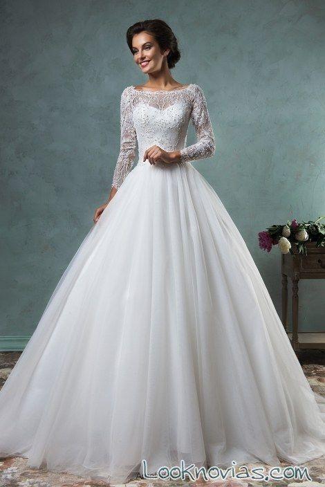 Vestidos para bodas y tocados