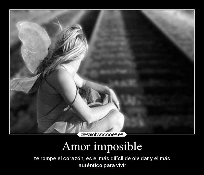Amor Imposible Imagenes Con Frases Romanticas Tristes