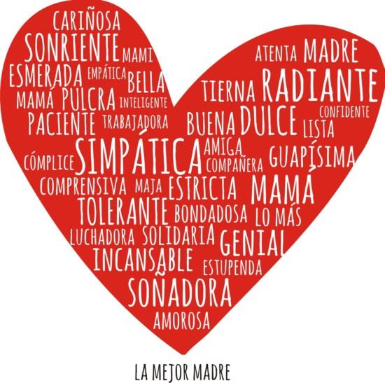 Imágenes Con Corazones De Amor Y Mensajes Para El Día De La Madre