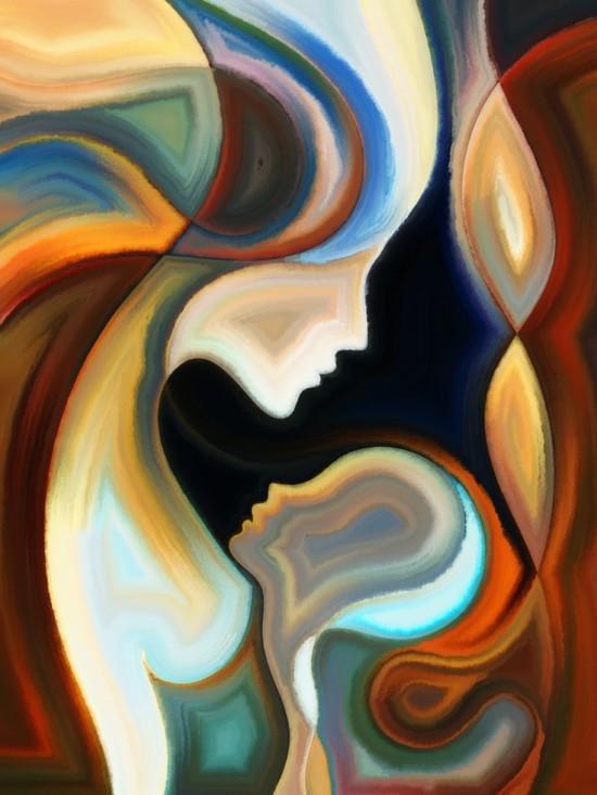 Quadros abstratos como pintar