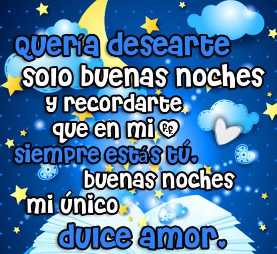 Las Mejores Frases Y Mensajes De Buenas Noches Mi Amor