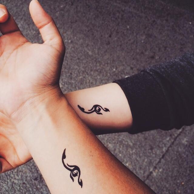 Tatuajes para parejas muy enamoradas