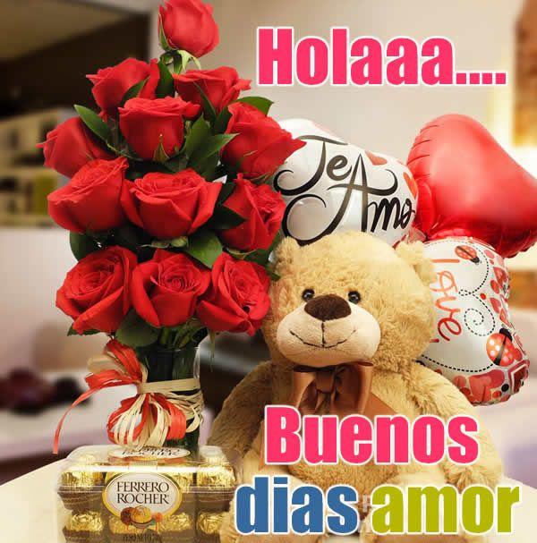 Imágenes De Buenos Días Amor Mensajes Frases Y Palabras Bonitas