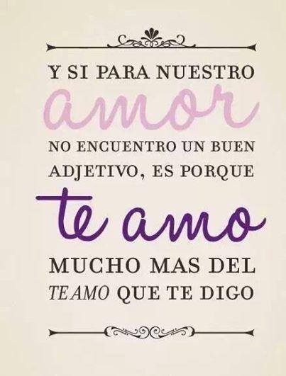 Noche De Letras Frases T Te Amo Tes And Amor