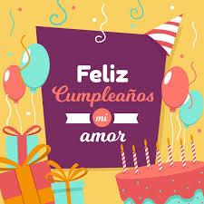 Feliz Cumpleaños Amor Las Mejores Felicitaciones 2019