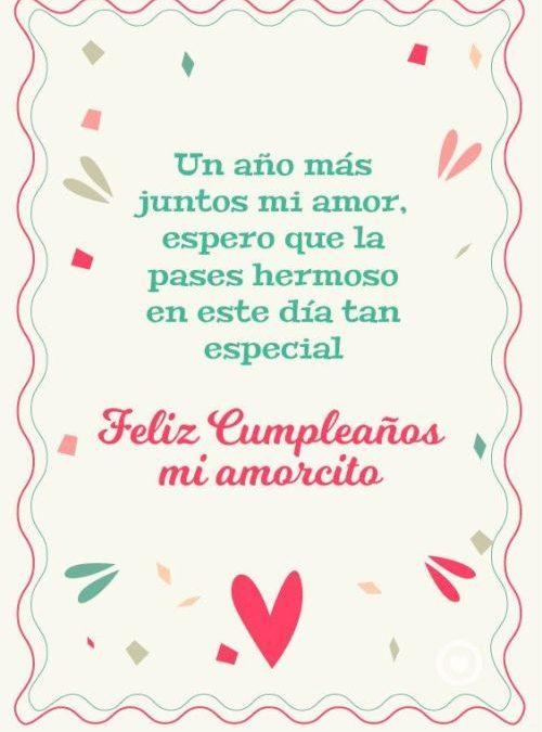 Carta de Feliz cumpleaños para el Amor de tu vida