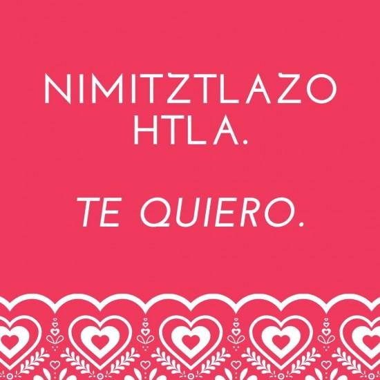 Frases de Amor en Nahuatl con significado